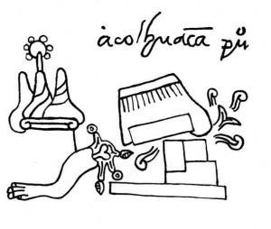 simbolo de Acolhuacan-Texcoco en el códice Mendocino