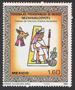 Timbre postal mexicano